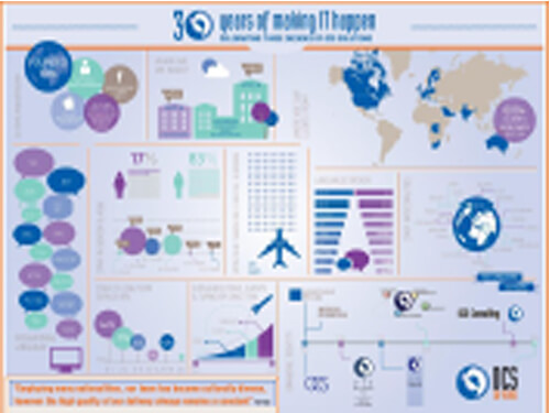 30 Years of Making IT Happen Wallchart